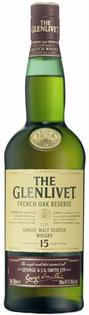 The Glenlivet Scotch Single Malt 15 Year French Oak...